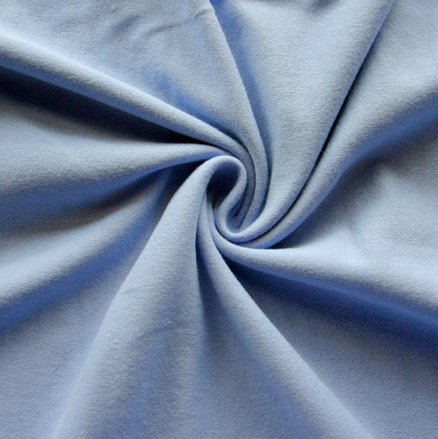 Periwinkle Cotton Lycra Jersey Knit Fabric