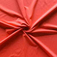 Persimmon Nylon Spandex Swimsuit Fabric