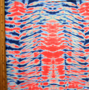Pink/Blue Tie Dye Nylon Lycra Swimsuit Fabric