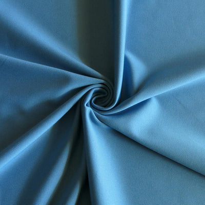 Poolside Blue Dry-Flex Micropoly Lycra Jersey Knit Fabric
