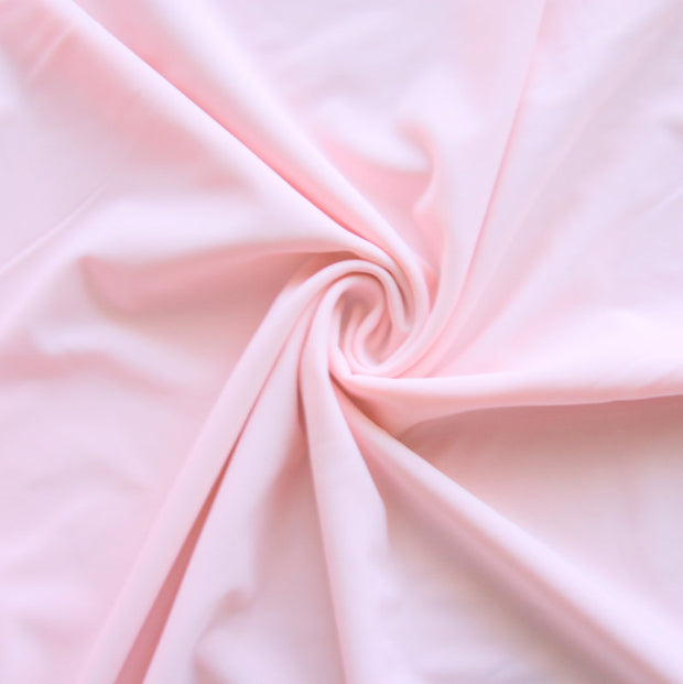 Powder Pink Nylon Lycra Swimsuit Fabric