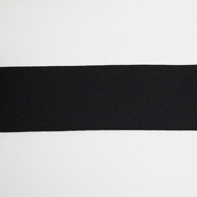 "2"" Waistband Elastic in Black by Riley Blake - 1 yard 33"" inch piece"