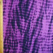 Purple/Navy Tie Dye Nylon Spandex Swimsuit Fabric