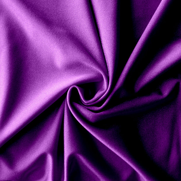 Purple Solid Nylon Spandex Tricot Specialty Swimsuit Fabric
