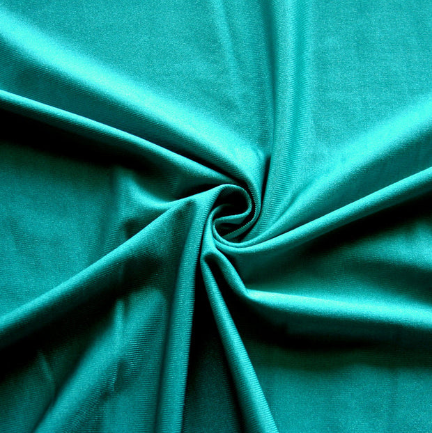Tropical Rainforest Green Nylon Lycra Swimsuit Fabric