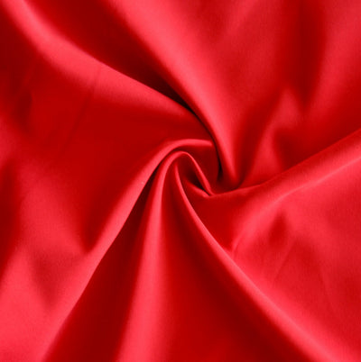 Apple Red Microfiber Boardshort Fabric