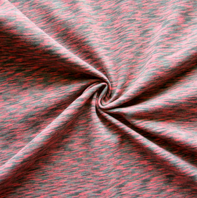 Red Relish Space Dye Nylon Lycra Swimsuit Fabric