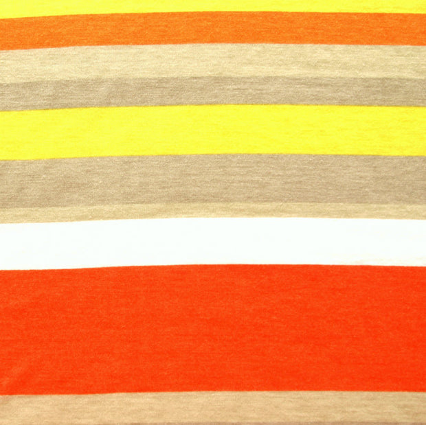 Retro Days Stripe Knit Fabric