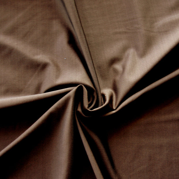 Rich Brown Nylon Lycra Swimsuit Fabric
