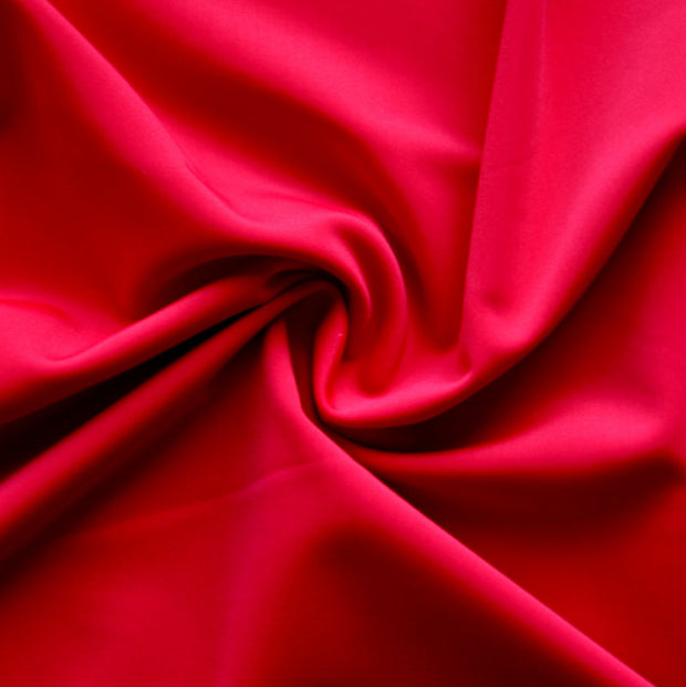 Rich Red Swimsuit Fabric