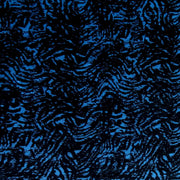 Blue/Black Abstract Nylon Spandex Swimsuit Fabric