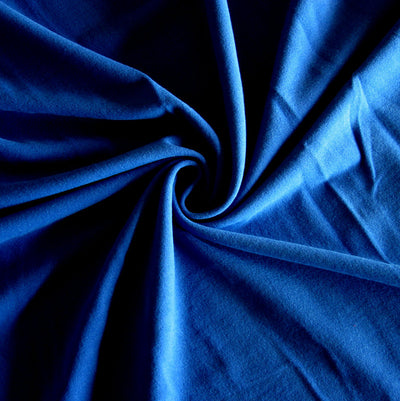 Royal 10 oz. Cotton Lycra Jersey Knit Fabric