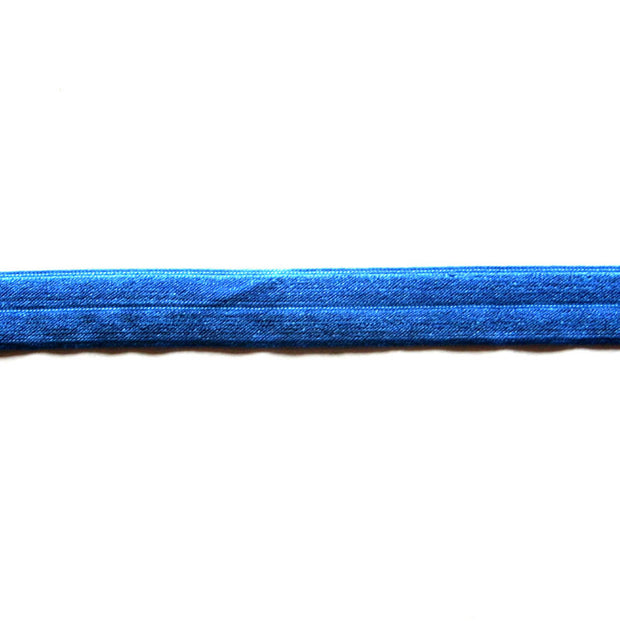 Royal Blue Fold Over Elastic Trim