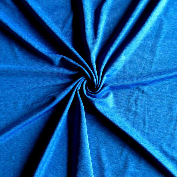 Royal Blue Marl Nylon Spandex Swimsuit Fabric