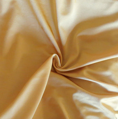 Shiny Gold Nylon Spandex Swimsuit Fabric