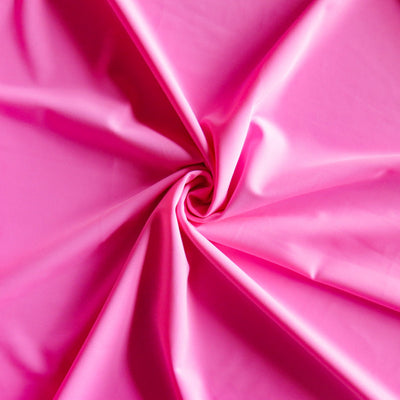 Shocking Pink Palm Rec 18 Recycled Nylon Spandex Swimsuit Fabric
