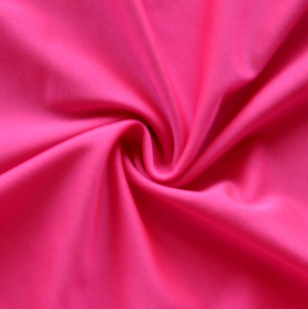 Shocking Pink Solid Nylon Spandex Tricot Specialty Swimsuit Fabric