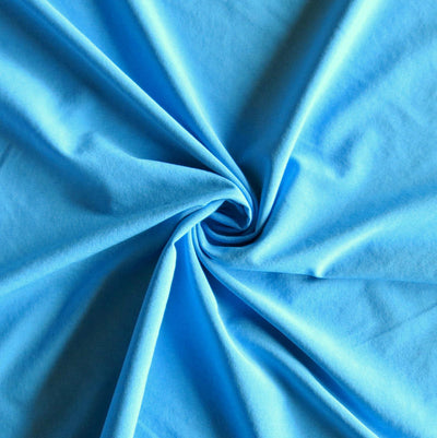 Sky Blue Dri-Fit Stretch Woven Fabric