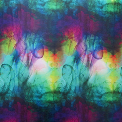 Smoke and Mirrors Nylon Spandex Swimsuit Fabric