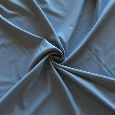 Pewter Blue Nylon Spandex Swimsuit Fabric