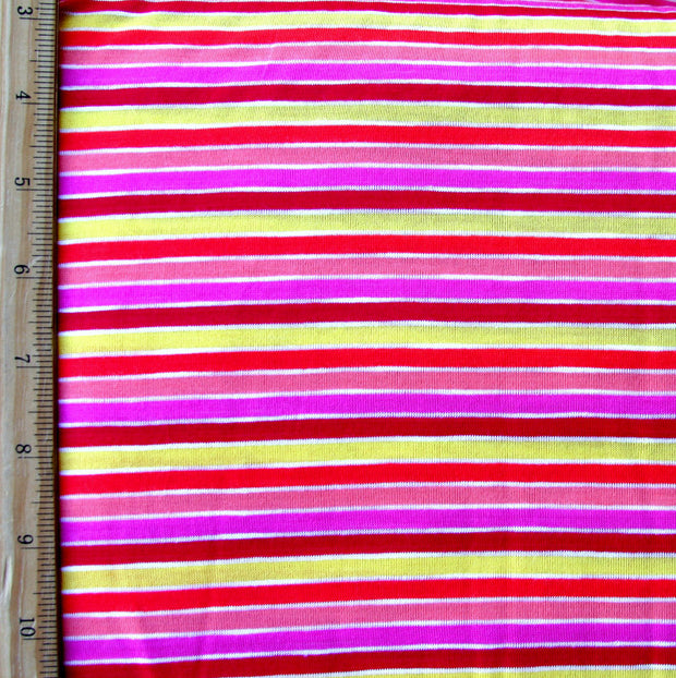 Sorbet Stripe Knit Fabric - Seconds - Not Quite Perfect