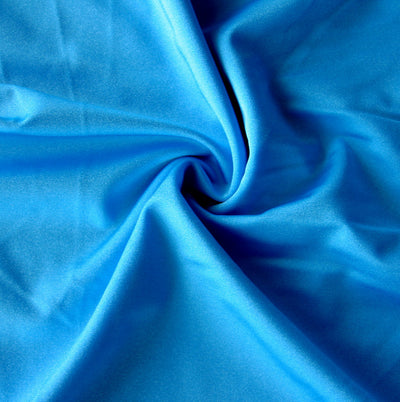 Turquoise Solid Nylon Spandex Tricot Specialty Swimsuit Fabric