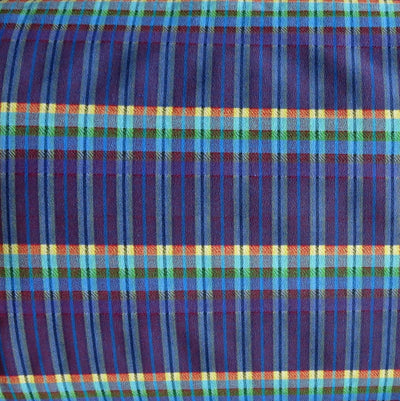 Summer Nights Madras Stretch Woven Fabric