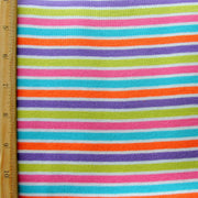 Sweet Shoppe Stripe Cotton Knit Fabric