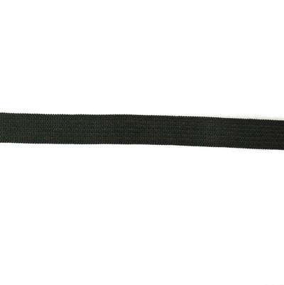 "Black 1/2"" Swimsuit Elastic"