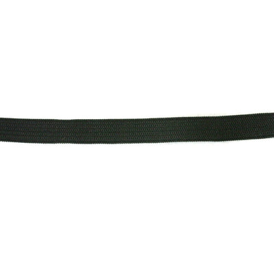 "Black 3/8"" Swimsuit Elastic"