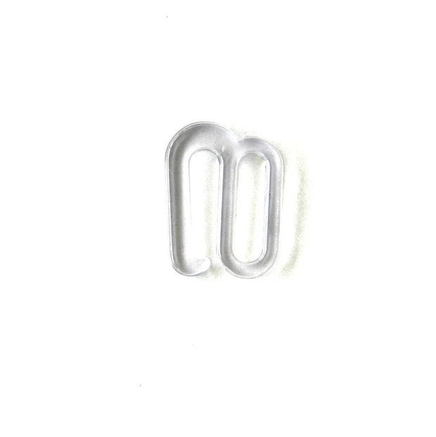 Clear Swimwear S Hook 3/4""