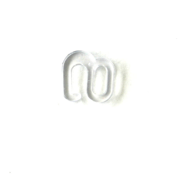 Clear Swimwear S Hook 3/8""