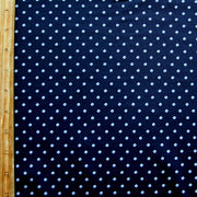 Tiny Lavender Diamonds on Dark Navy Nylon Lycra Swimsuit Fabric