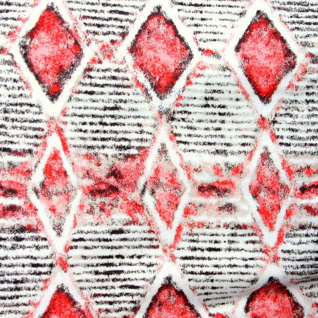 Tribal Cotton Knit Fabric