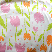 Tulip Tumble Cotton Lycra Knit Fabric