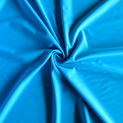 Turquoise Nylon Spandex Swimsuit Fabric