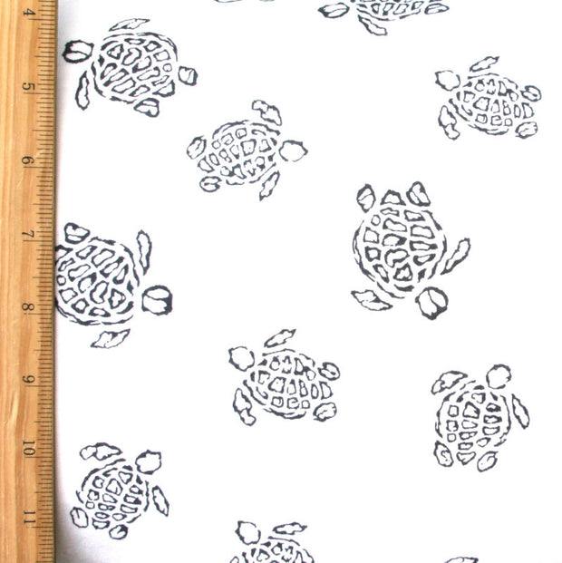 Turtle Bay Cotton Knit Fabric by Fresh Produce