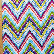 Vivid Zig Zags Nylon Spandex Swimsuit Fabric