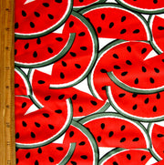 Watermelon Burst Nylon Lycra Swimsuit Fabric