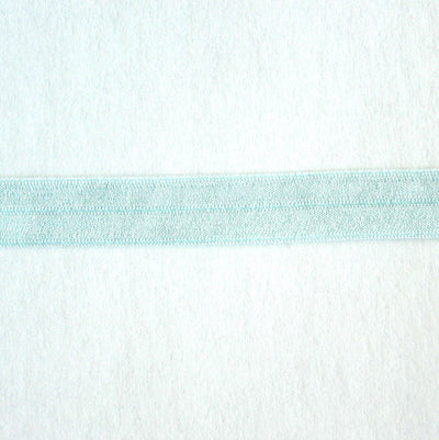 Whisper Mint Fold Over Elastic Trim