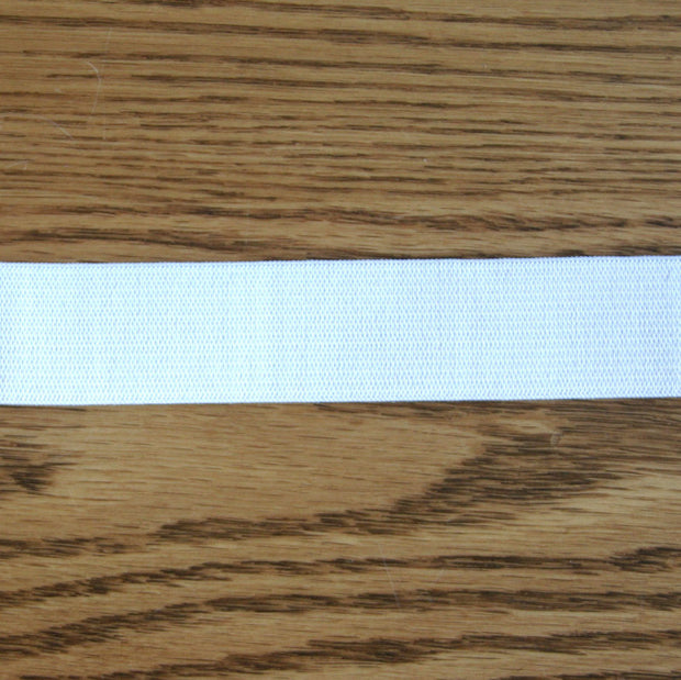 "White 1"" Swimsuit Elastic"