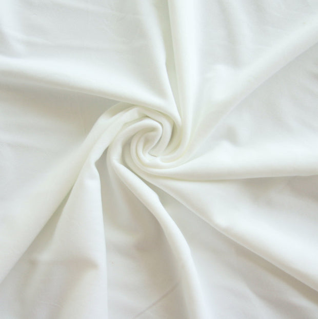 White Swimsuit Lining Fabric