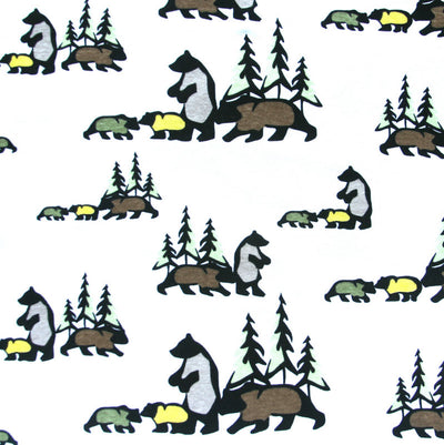 Wilderness Cotton Knit Fabric