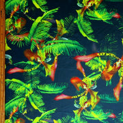 Wild Ferns Nylon Spandex Swimsuit Fabric