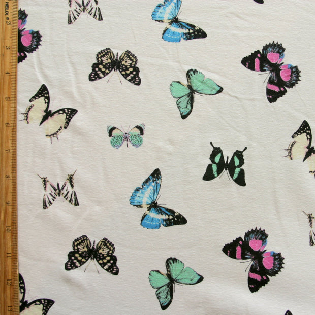 Wings Cotton Lycra Knit Fabric