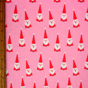 Winking Santas Nylon Lycra Swimsuit Fabric
