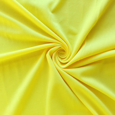 Bright Yellow Swimsuit Lining Fabric