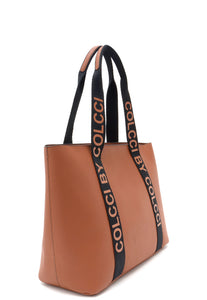 Bolsa Shopper Colcci Monique Sporting Caramelo