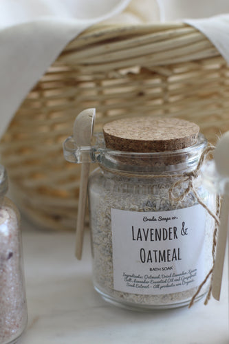 Lavender & Oatmeal Bath Salts