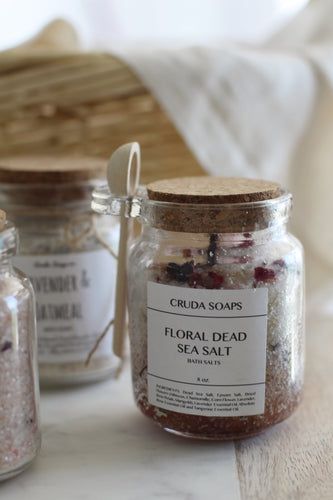 Floral Dead Sea Bath Salts